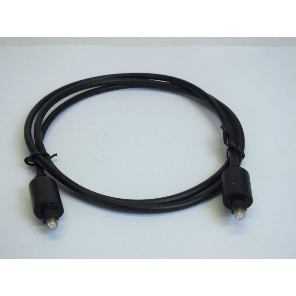 KABEL TOSlink 1m C-CLE-80600 (Farba Čierna, Veľkosť Neurčená)