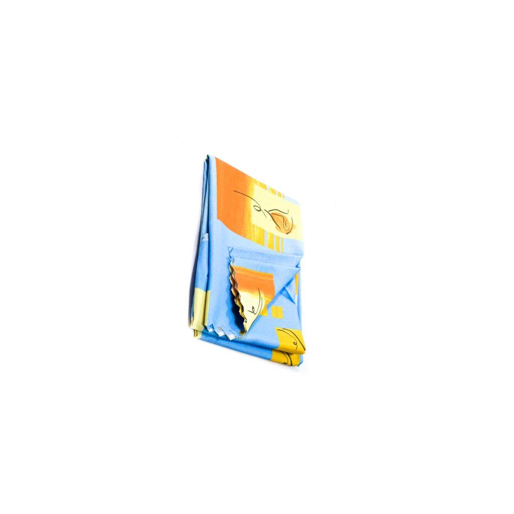"""OBRUS 140*220-TEFLON """"88"""", C-30-1288 (Farba Modrá, Veľkosť 140x220cm)"""
