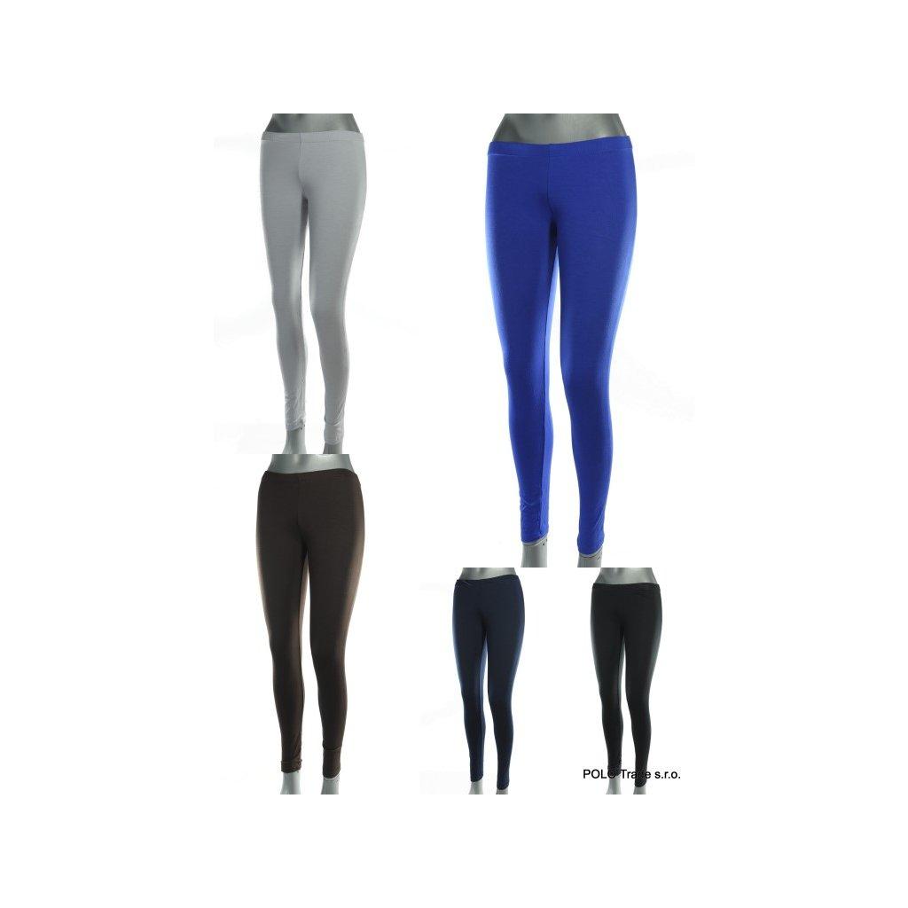 Streče dámske bedrové - jednofarebné (Farba Čierna, Veľkosť S)