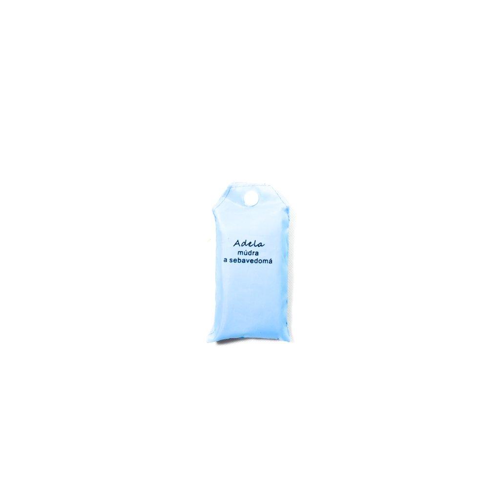 Nákupná taška s menom ADELA - múdra a sebavedomá (Farba Červená, Veľkosť 15L)