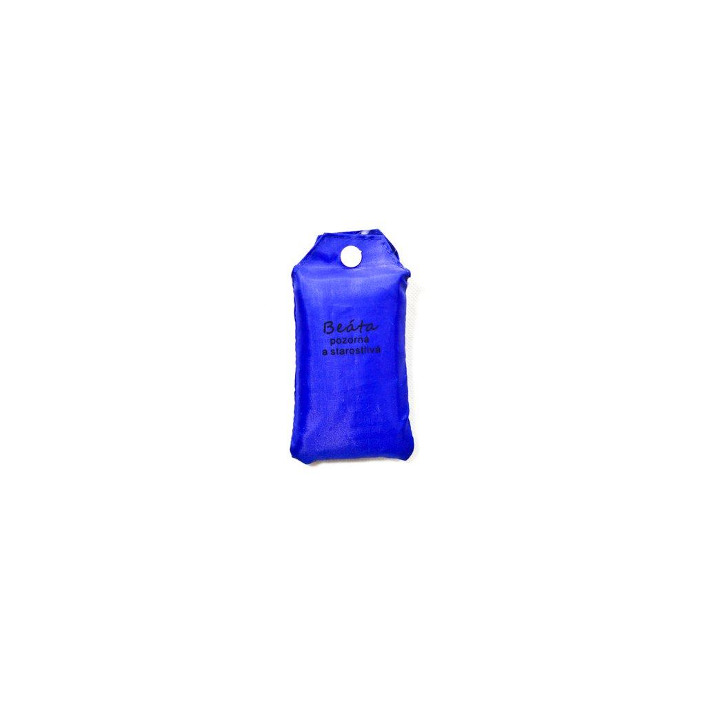 Nákupná taška s menom BEÁTA - pozorná a starostlivá (Farba Červená, Veľkosť 15L)