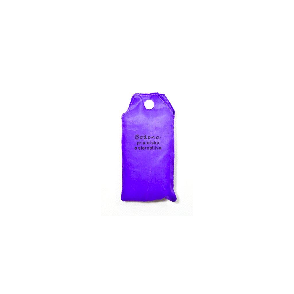 Nákupná taška s menom BOŽENA - priateľská a starostlivá, C-24-7711 (Farba Červená, Veľkosť 15L)