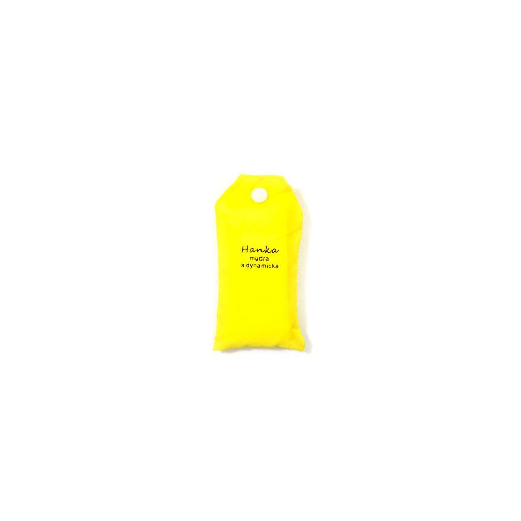 Nákupná taška s menom HANKA - múdra a dynamická, C-24-7726 (Farba Červená, Veľkosť 15L)