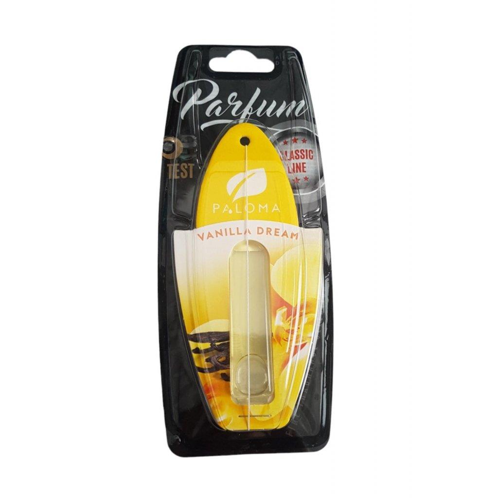 Autoparfém vanilka (Farba Oranžová, Veľkosť 5ml)