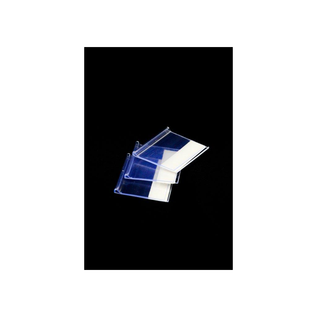 Cenovky 100ks v balení, 100 kusov v balení (Farba Transparent, Veľkosť 6x4cm)