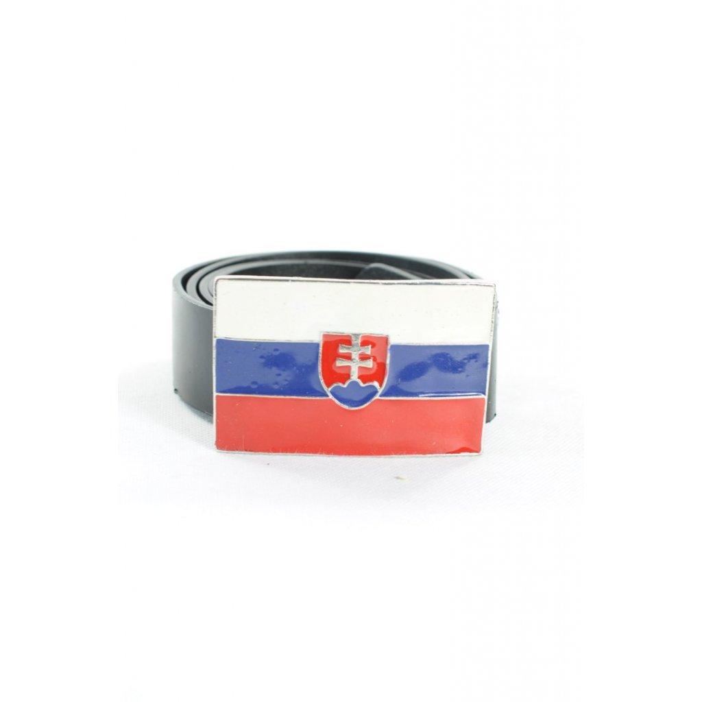 Pánsky opasok SLOVENSKO svk slovakia 138cm (Farba Čierna, Veľkosť 138cm)