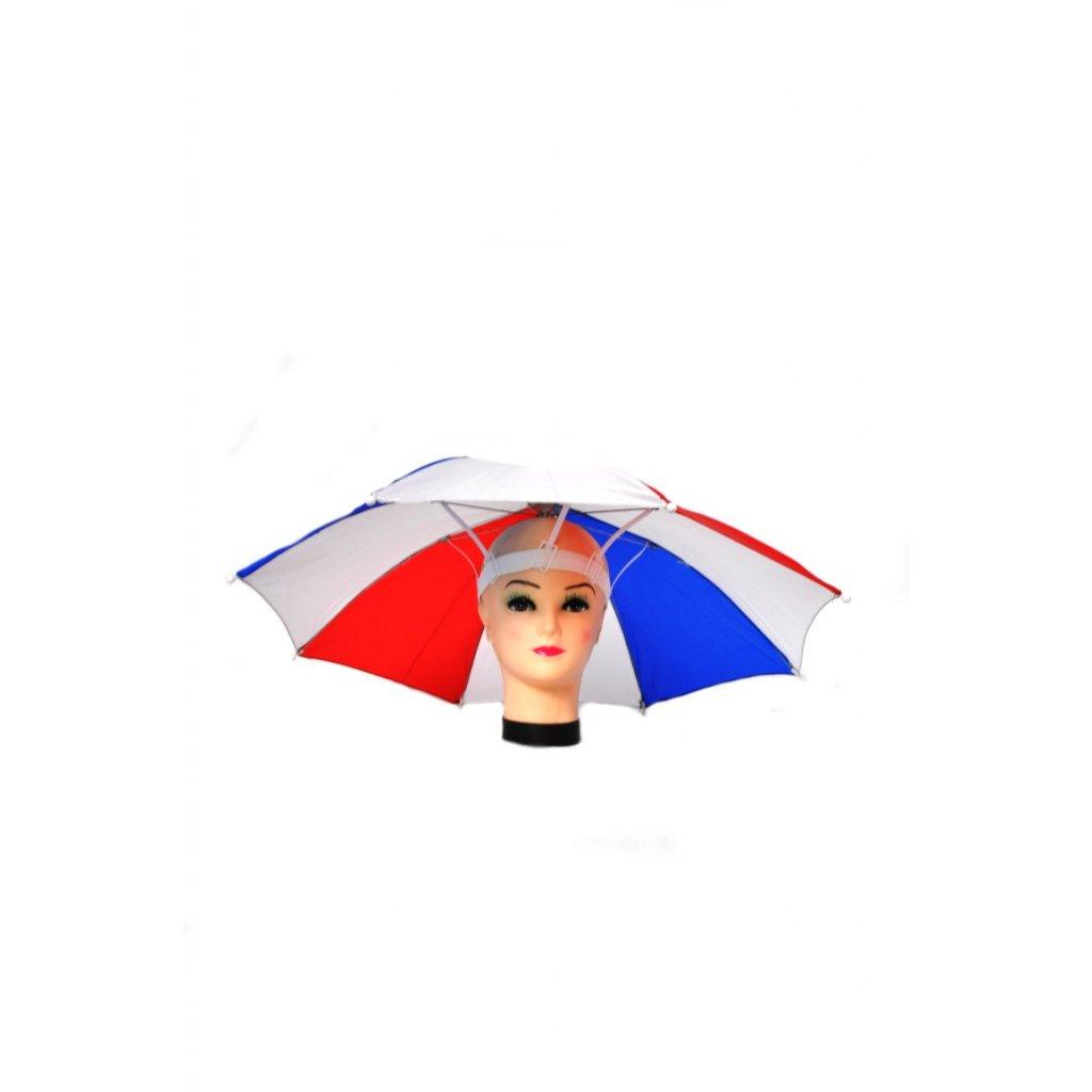 FAN Dáždnik na hlavu SVK s píšťalkou P65cm (Farba Modrá, Veľkosť P:65cm)