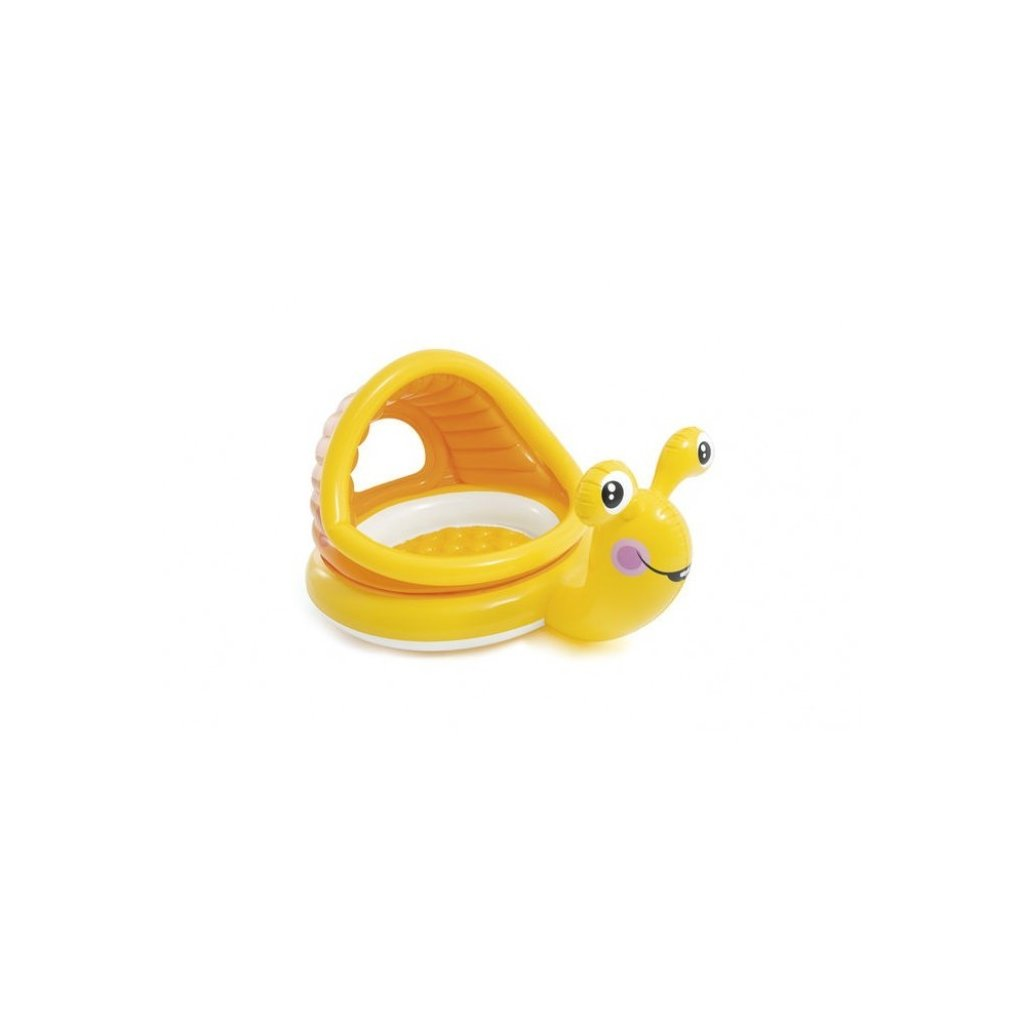 Intex Bazén slimáčik 145*102cm (Farba Oranžová, Veľkosť Neurčená)
