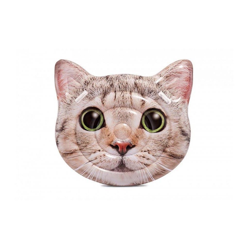 Nafukovačka mačka 147*135cm (Farba Hnedá, Veľkosť 147x135)