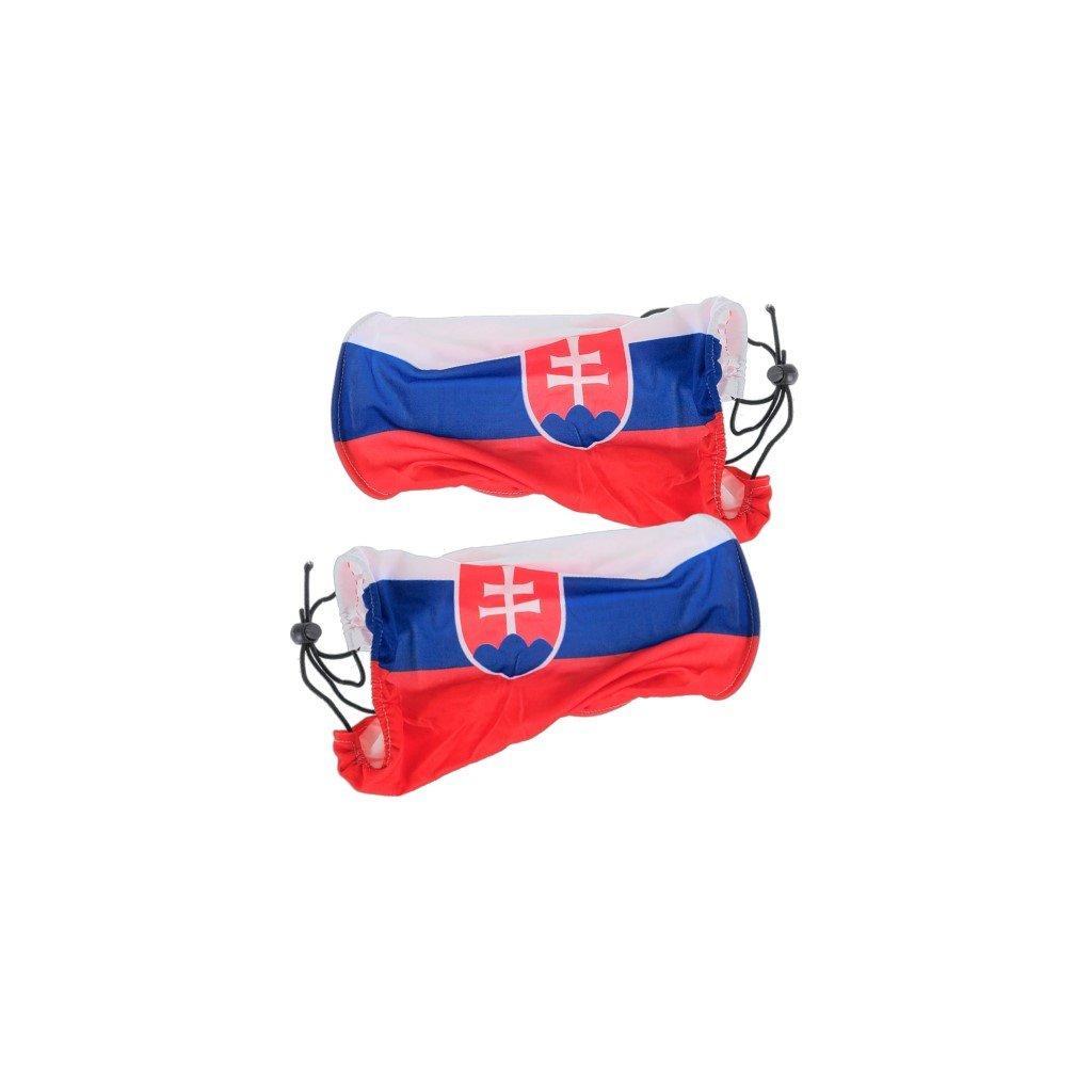 Autonávlek na spätné zrkadlá SLOVENSKO 2ks