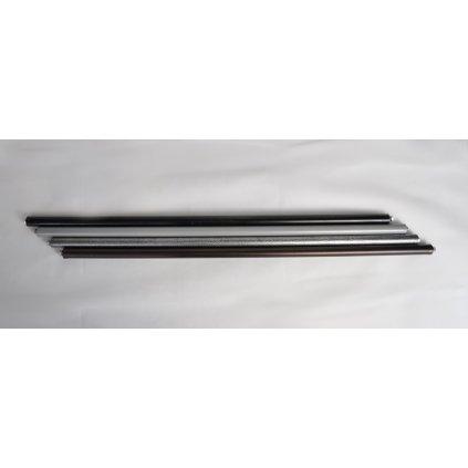 Rebríková tyč 120cm (Farba Šedá, Veľkosť Neurčená)