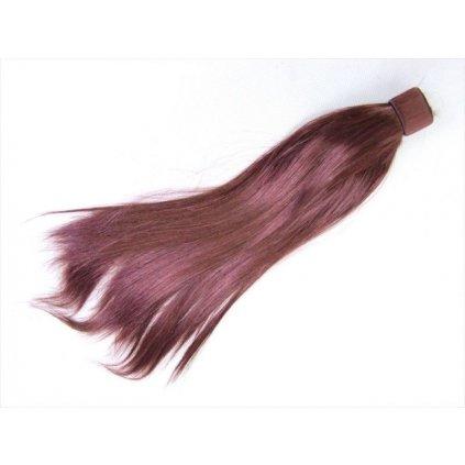 Príčesok do vlasov 60x38cm (Farba Hnedá, Veľkosť Neurčená)