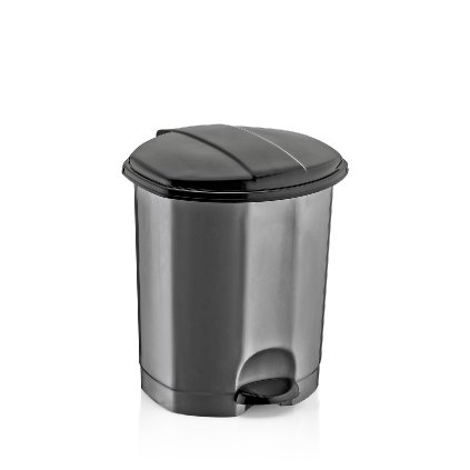 Odpadkový kôš šlapací 5L, Dunya (Farba Hnedá, Veľkosť 5L)