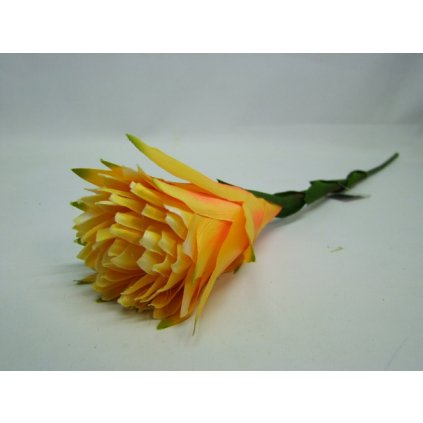 Kvet žltý 78cm (Farba Žltá, Veľkosť Neurčená)
