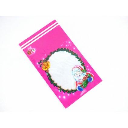 Mikulášske sáčky malé 100 ks, 20x30cm (Farba Ružová, Veľkosť Neurčená)