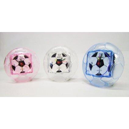 Budík - futbalová lopta (Farba Biela, Veľkosť Neurčená)