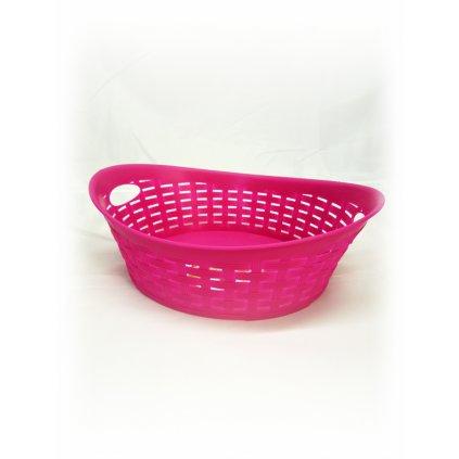 Plastový košík ratan (Farba Neurčená, Veľkosť Neurčená)