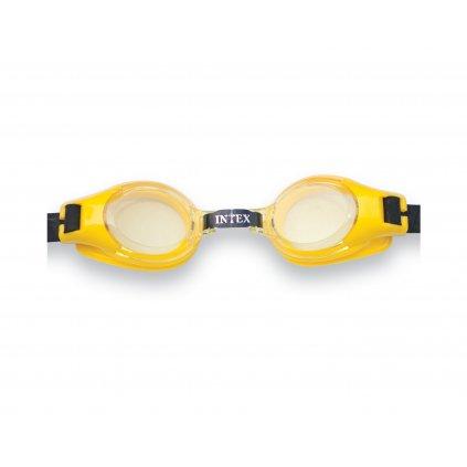 Plavecké okuliare Intex JUNIOR 55601 (Farba Modrá, Veľkosť 20x12cm)