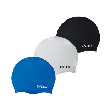 Kúpacia čiapka Intex Silicone 55991 (Farba Biela, Veľkosť Neurčená)