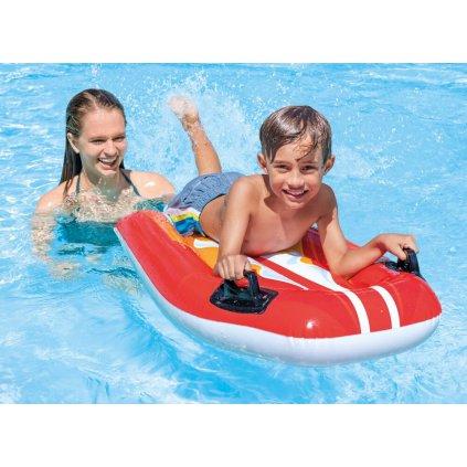 Nafukovačka surf 112*62cm (Farba Modrá, Veľkosť 112x62cm)