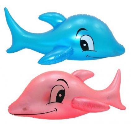 Nafukovací delfín - svietiaci (Farba Ružová, Veľkosť Neurčená)