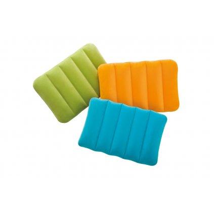 Nafukovací vankúš 43*28*9cm (Farba Zelená, Veľkosť 43x28cm)