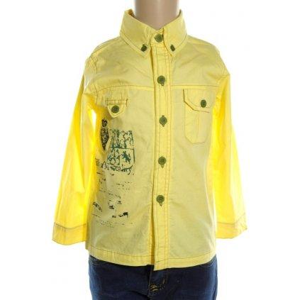 Chlapčenská košeľa LEBE (Farba Žltá, Veľkosť 12m)