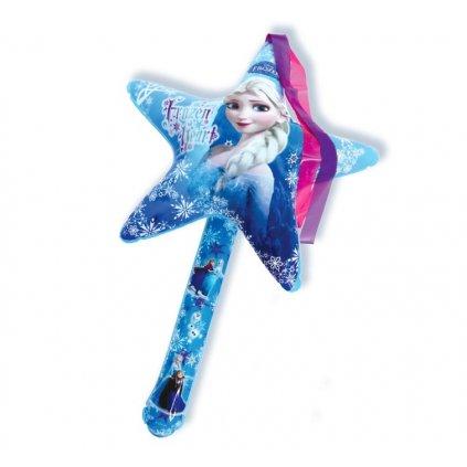 Nafukovacia hviezda Frozen (Farba Modrá, Veľkosť 70)