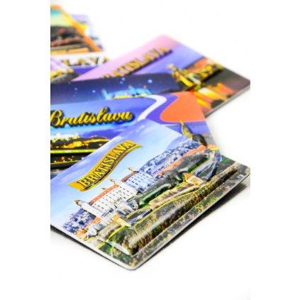 3D magnetka Bratislavský hrad (Farba Multifarebné, Veľkosť Neurčená)