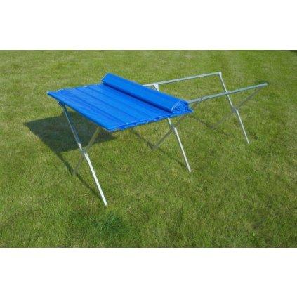 Trhový stôl 3 m (Farba Modrá, Veľkosť Neurčená)