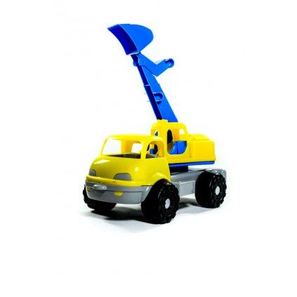Autobager - hračka do piesku 35cm, Zuzu Toys (Farba Žltá, Veľkosť 35cm)