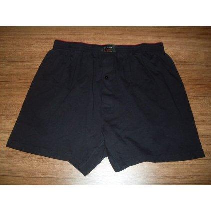 Pánske jednofarebné boxery (Farba Čierna, Veľkosť XL)