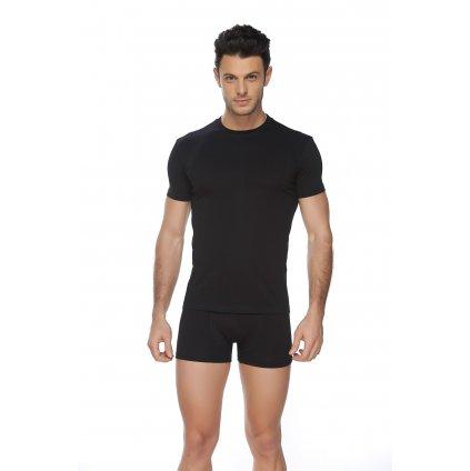 Pánske jednofarebné tričko M-3XL (Farba Biela, Veľkosť M)