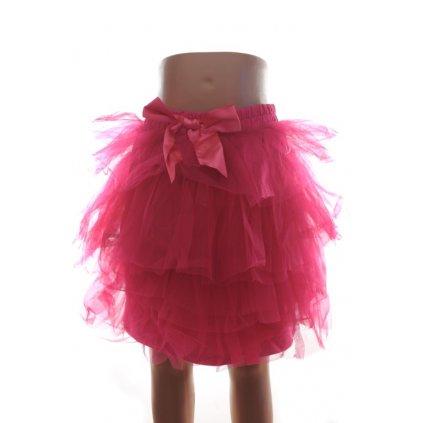Detská tutu sukňa - 128*152 (Farba Biela, Veľkosť 128)