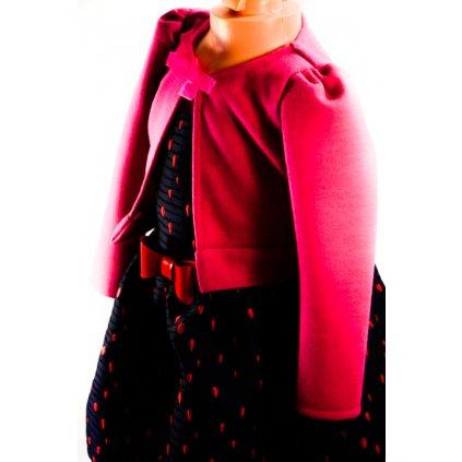 Dievčenské bolerko - ružové (Farba Ružová, Veľkosť 92)