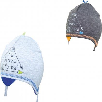 Detská čiapka - BRAVE (Farba Multifarebné, Veľkosť 44-46)
