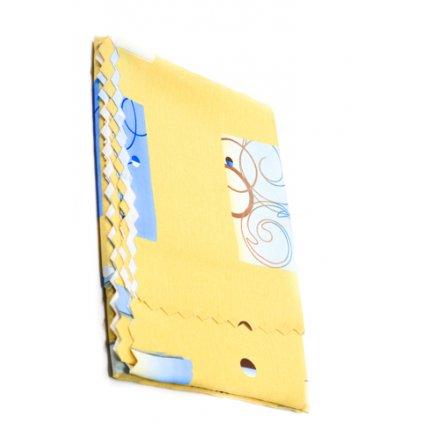 OBRUS 140*220 -TEFLON 84 (Farba Žltá, Veľkosť 140x220cm)