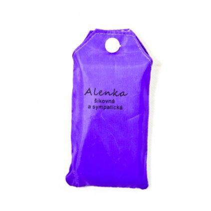 Nákupná taška s menom ALENKA - šikovná a sympatická, C-24-7703 (Farba Červená, Veľkosť 15L)