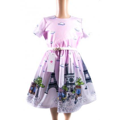 Detské šaty - Paríž (Farba Neurčená, Veľkosť Neurčená)
