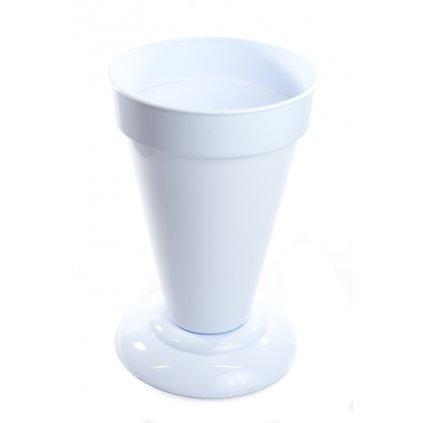 Váza plastová 4,5L (Farba Biela, Veľkosť 4.5L)