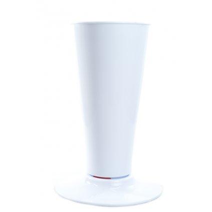 Váza plastová 2,7L (Farba Biela, Veľkosť 2.7L)