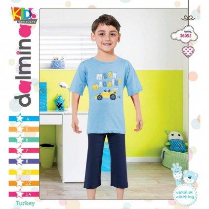 Chlapčenské pyžamo - autíčko (Farba Šedá, Veľkosť 8r)