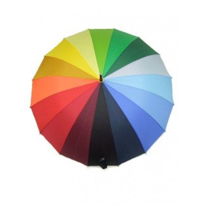 Dáždnik - dúhový 85cm (Farba Multifarebné, Veľkosť 85cm)