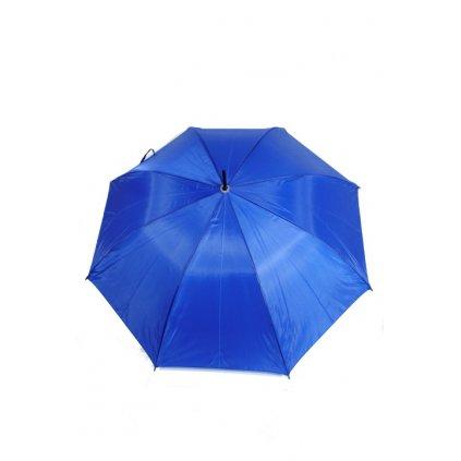 Unisex dáždnik jednofarebný klasický P110cm (Farba Čierna, Veľkosť 86cm)