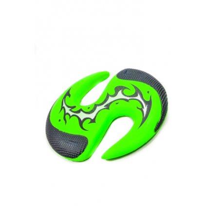 Lietajuci tanier 25cm, C-SPDH184406 (Farba Zelená, Veľkosť 25cm)