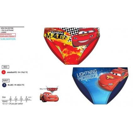 Plavky Cars slipy (Farba Červená, Veľkosť 3r)