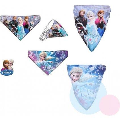 Detská čelenka - Frozen, C-5-EP4356 (Farba Ružová, Veľkosť Neurčená)