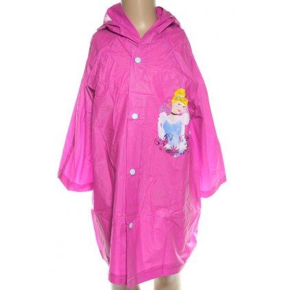 Detský pršiplášť Disney Princess, W&O (Farba Tmavoružová, Veľkosť 3/4r)