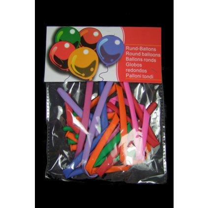 Balón slýž 10 ks (Farba Multifarebné, Veľkosť Neurčená)