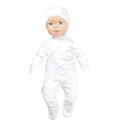 Kojenecký komplet anjelik (Farba Biela, Veľkosť 0-4m)